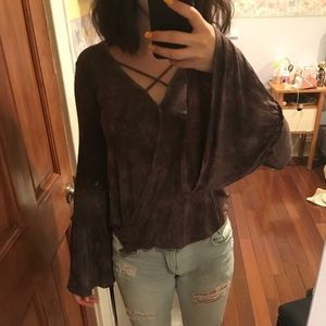 AE Cross Front Blouse